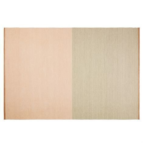 Design House Stockholm Fields Matto 200x300 cm Vaaleanpunainen-Beige