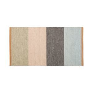 Design House Stockholm Fields Matto Beige / Roosa / Ruskea / Sininen 70x130 Cm