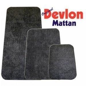 Devlon Devlon Matto 75x50 Cm Harmaa
