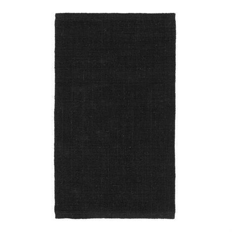 Dixie Fiona Juuttimatto Musta 70x120 cm