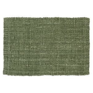 Dixie Jute Kynnysmatto Soft Green 90x60 Cm