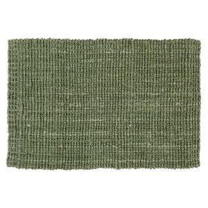 Dixie Jute Kynnysmatto Soft Green 90x60 Cm