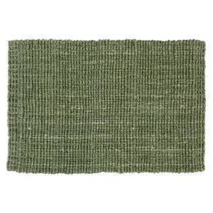 Dixie Jute Ovimatto Soft Green 60x90 Cm
