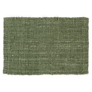 Dixie Jute Ovimatto Soft Green 60x90 Cm