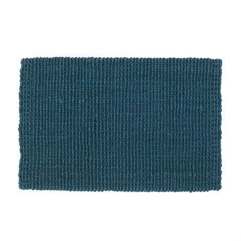 Dixie Juutti Ovimatto Denim Sininen 60x90 cm