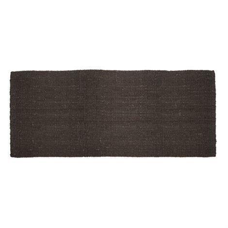 Dixie Juutti Ovimatto Musta 80x180 cm
