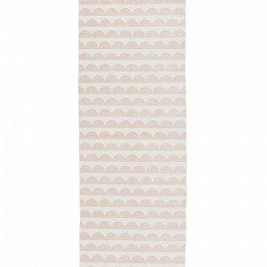 Ellos Joanna Puuvillamatto Roosa 70x250 Cm