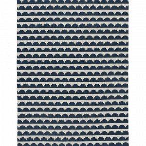 Ellos Joanna Puuvillamatto Sininen 140x200 Cm