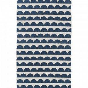Ellos Joanna Puuvillamatto Sininen 70x150 Cm
