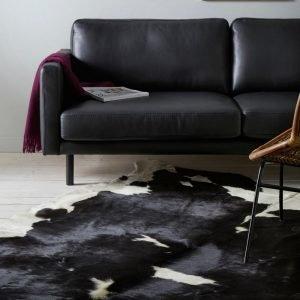Ellos Lehmäntalja Musta 200x220 Cm