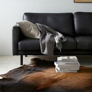 Ellos Lehmäntalja Ruskea 200x220 Cm