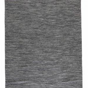 Ellos Uni Puuvillamatto Musta 300x400 Cm