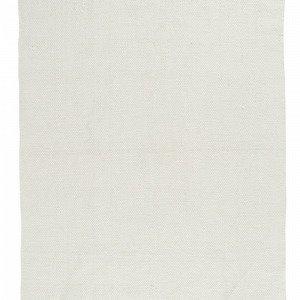 Ellos Uni Puuvillamatto Valkoinen 140x200 Cm