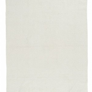Ellos Uni Puuvillamatto Valkoinen 200x290 Cm