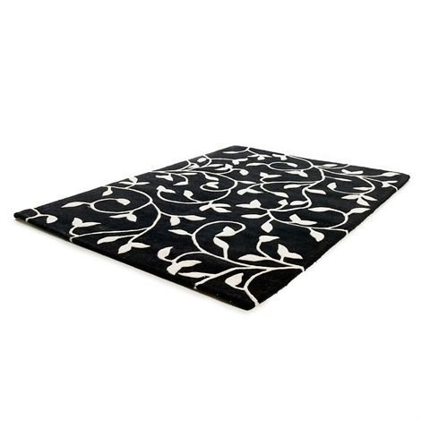 Etol Design Grow Matto Musta Valkoinen 140x200 cm