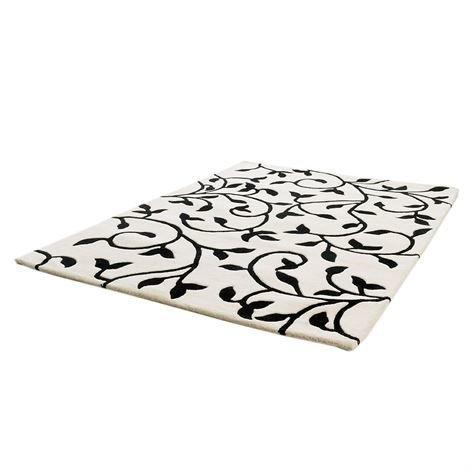 Etol Design Grow Matto Valkoinen Musta 140x200 cm