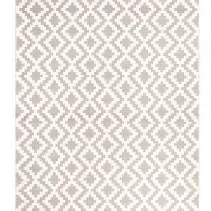 Fanni K Isadora Villamatto Harmaa / Valkoinen 140x200 Cm
