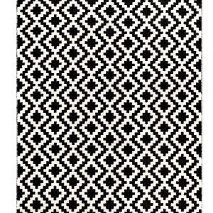 Fanni K Isadora Villamatto Musta / Valkoinen 200x290 Cm