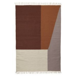 Ferm Living Kelim Matto Borders Xl