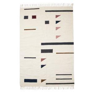 Ferm Living Kelim Matto Colour Triangles 140x200 Cm