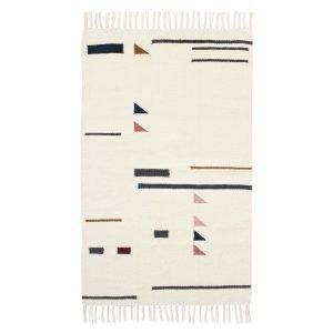 Ferm Living Kelim Matto Colour Triangles 80x140 Cm