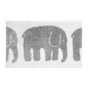 Finlayson Elefantti Kylpyhuonematto Harmaa 50x80 Cm