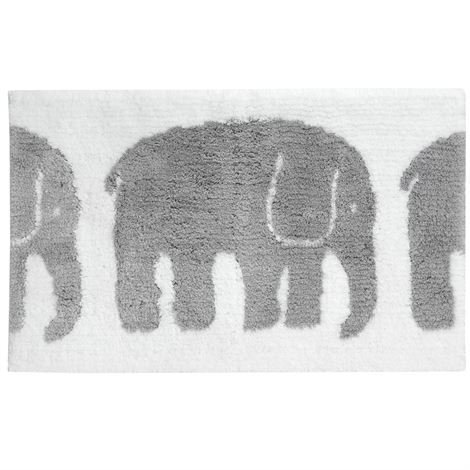 Finlayson Elefantti Kylpyhuonematto Harmaa