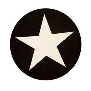 Halens Matto Star Musta