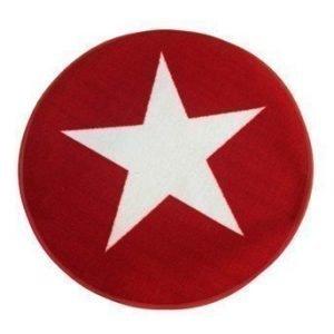 Halens Matto Star Punainen