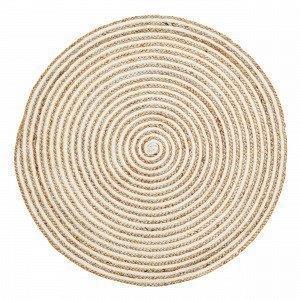 Hemtex Colline Puuvillamatto Kermanvalkoinen 90x90 Cm