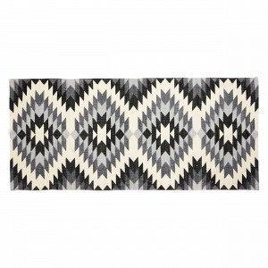 Hemtex Douglas Puuvillamatto Musta 70x160 Cm