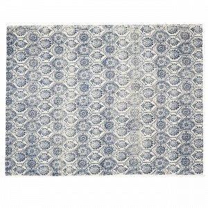Hemtex Ethnica Puuvillamatto Sininen 120x160 Cm