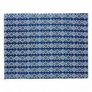 Hemtex Fritz Puuvillamatto Sininen 120x160 Cm