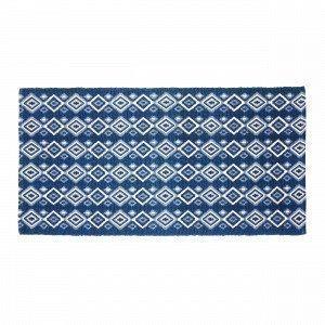 Hemtex Fritz Puuvillamatto Sininen 70x140 Cm