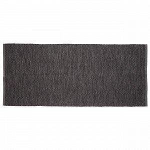 Hemtex Irja Puuvillamatto Musta 70x160 Cm