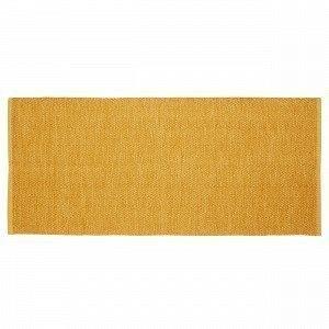 Hemtex Irja Puuvillamatto Sinapinkeltainen 70x160 Cm