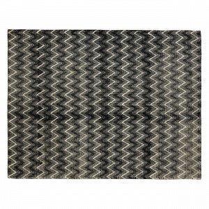 Hemtex Lilian Puuvillasekoitematto Musta 120x160 Cm