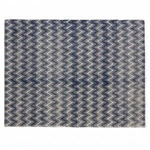 Hemtex Lilian Puuvillasekoitematto Sininen 120x160 Cm