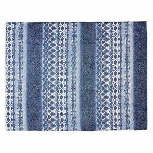 Hemtex Shibori Puuvillamatto Sininen 120x160 Cm