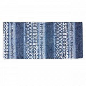 Hemtex Shibori Puuvillamatto Sininen 70x160 Cm