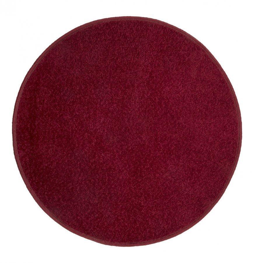 Hestia Matto Pyöreä 67 Cm Punainen