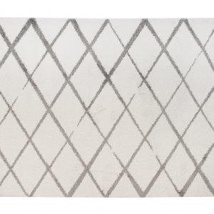 Hestia Napoli Matto Valkoinen Harmaa 135x190 Cm