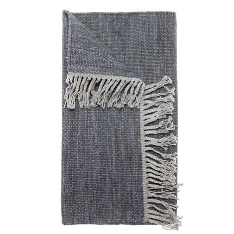 Himla Abisko Villamatto Sea Sininen 80x150 cm