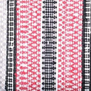 Hobby Hall Tuohi Puuvillamatto Punainen 80x300 Cm