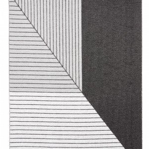 Horredsmattan Stripe Matto Harmaa 150x210 Cm