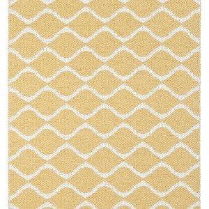 Horredsmattan Wave Matto Keltainen 70x150 Cm