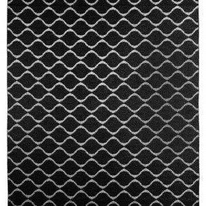 Horredsmattan Wave Matto Musta 150x200 Cm