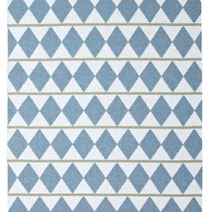 Horredsmattan Zigge Matto Sininen 150x200 Cm
