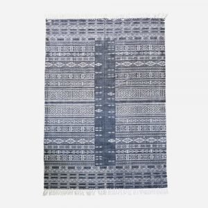 House Doctor Julia Matto Musta / Valkoinen 160x230 Cm