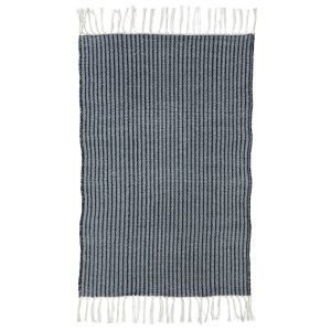 House Doctor Stripe Matto Sininen / Harmaa 70x180 Cm
